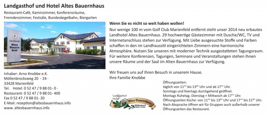 Homepage Golf Club Marienfeld Hotelempfehlung_2